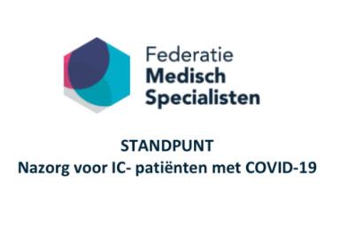Het Standpunt Nazorg Voor IC-patiënten Met COVID-19 Is Gereed